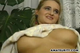 Busty babe with a perfect body fucked with a big facial cumshot.