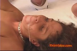 Sexy milf has a real orgasm when fucked in the ass.