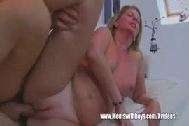 Sexy milf fucks her stepson on cam.