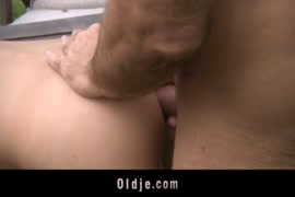 Teen gets fucked hard in the ass.