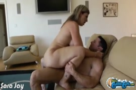 Hot milf takes cock in her ass.