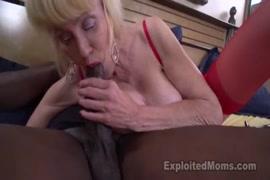 Mature blonde babe with big tits masturbates her juicy pussy.